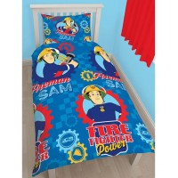 Fireman Sam Reversible Duvet set (Workshop)