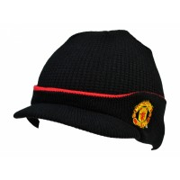 Manchester United F.C. knitted hat (Black)
