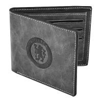 Chelsea F.C. Faux Suede Wallet (Grey)