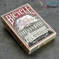 Bicycle US Presidents playing cards (Red)