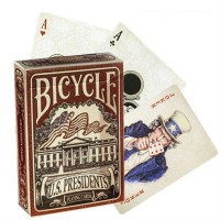 Bicycle US Presidents kortos (Raudona)