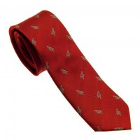 Arsenal F.C. tie (Red, cannons)