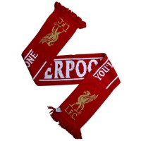 Liverpool F.C. scarf (Tag line)