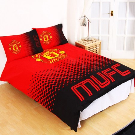 Manchester United F.C. dvigulės, dvipusės patalynės komplektas