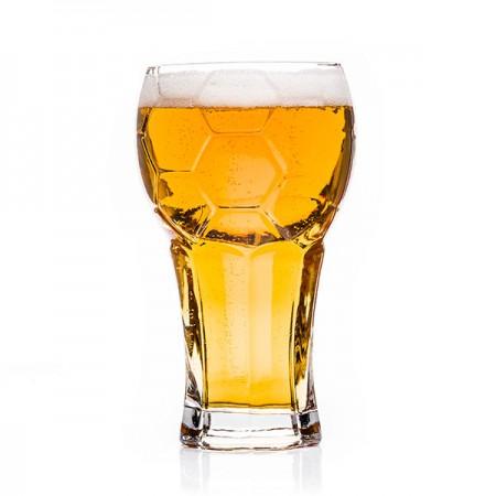 """Stiklinė alaus taurė """"Futbolo kamuolys"""""""