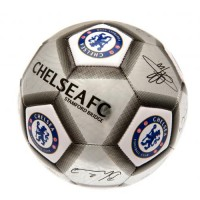 Chelsea  F.C. football ball (Signatures. Grey)