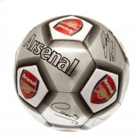 Arsenal  F.C. football ball (Signatures. Grey)