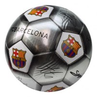 F.C. Barcelona football ball (Signatures. Grey)