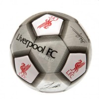 Liverpool F.C. football ball (Signatures. Grey)