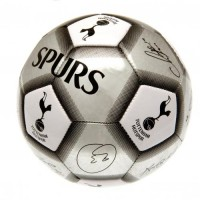 Tottenham Hotspur F.C. football ball (Signatures. Grey)