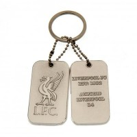 Liverpool F.C. dog tag keyring