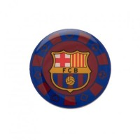 F.C. Barcelona poker chip pin badge