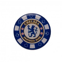 Chelsea F.C. poker chip pin badge