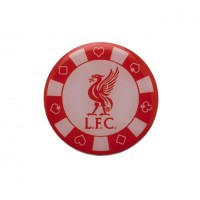Liverpool F.C. poker chip pin badge