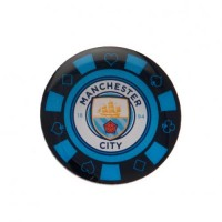 Manchester City F.C. poker chip pin badge