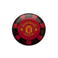 Manchester United F.C. poker chip pin badge
