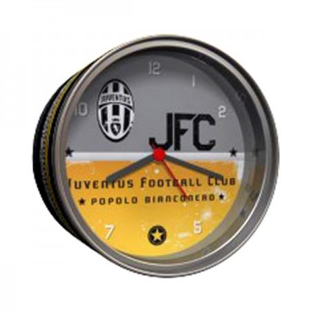 Juventus F.C. stalo laikrodis skardinėje