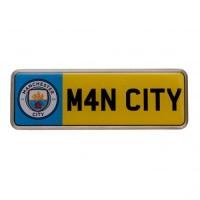 Manchester City F.C. prisegamas ženklelis (Numeris)