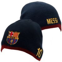 F.C. Barcelona knitted hat (Messi)