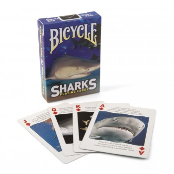 Bicycle Sharks kortos