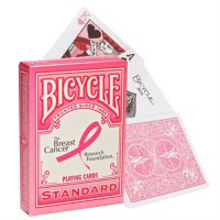 Bicycle Pink Ribon kortos