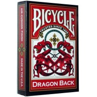 Bicycle Dragon Back cards (Red)