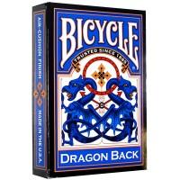Bicycle Dragon Back kortos (Mėlyna)