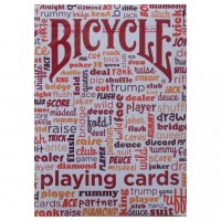 Bicycle Table Talk cards (Red)