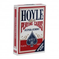 Bicycle Super Jumbo cards (Red)