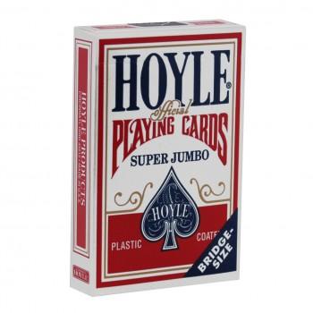 Hoyle Super Jumbo kortos (Raudonos)