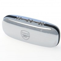Arsenal F.C. chrome glasses case