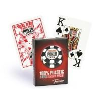 Fournier WSOP pokerio kortos (Raudonos)