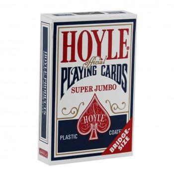 Hoyle Super Jumbo kortos (Mėlynos)