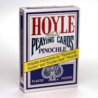 Hoyle Pinochle cards (Blue)