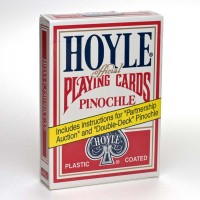 Hoyle Pinochle cards (Red)