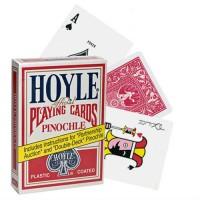 Hoyle Pinochle kortos (Raudonos)