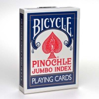 Bicycle Pinochle cards (Blue)