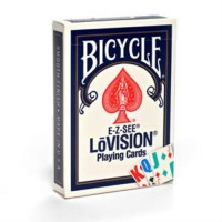 Bicycle E-Z-SEE LoVision cards (Blue)