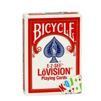 Bicycle E-Z-SEE LoVision cards (Red)