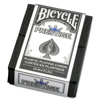 Bicycle Prestige Plastic cards (Blue)