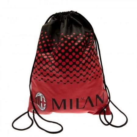 A.C. Milan sportinis maišelis (Raudonas)