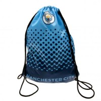 Manchester City F.C. drawstring bag (Blue/Black)