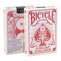 Bicycle Cyclist cards (Red)