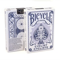 Bicycle Cyclist cards (Blue)