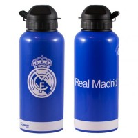 Real Madrid C.F. aluminium drinks bottle (Away)
