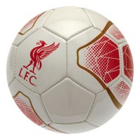 Liverpool F.C. football ball (White and gold)