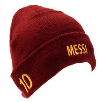 F.C. Barcelona atlenkta žieminė kepurė (Messi)