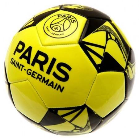 Paris Saint - German F.C. futbolo kamuolys (Geltonai žalias)