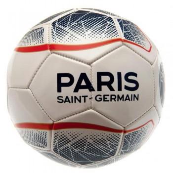 Paris Saint - Germain F.C. futbolo kamuolys (Baltas su taškais)