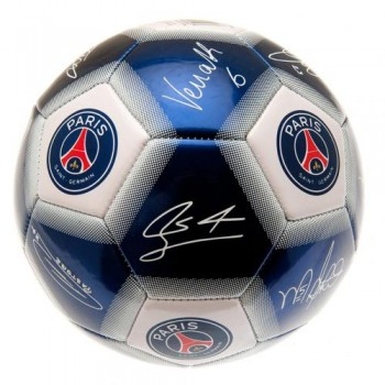 Paris Saint - Germain F.C. futbolo kamuolys (Su parašais)